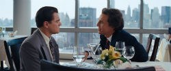 Leonardo DiCaprio and Matthew McConaughey in 'The Wolf of Wall Street'