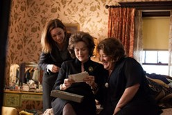 Julianne Nicholson, Meryl Streep, and Margot Martindale in 'August: Osage County'