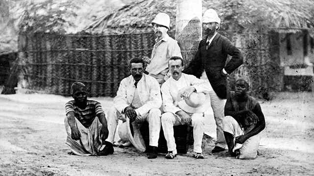 Image result for white man missionaries 19 century