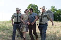 Rooney Mara and Casey Affleck in 'Ain't Them Bodies Saints'