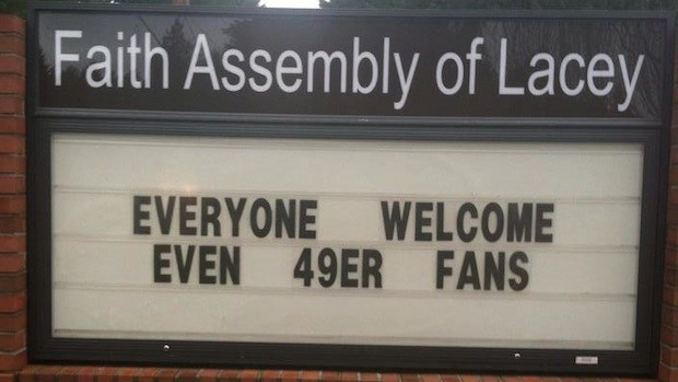 Church Signs of the Week: January 17, 2014