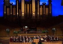 Ravi Zacharias Speaks, Fernando Ortega Sings … at the Mormon Tabernacle