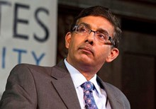 Dinesh D'Souza Indicted for Illegal Campaign Donations