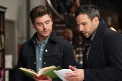 Zac Efron and Tom Gormican in 'That Awkward Moment'