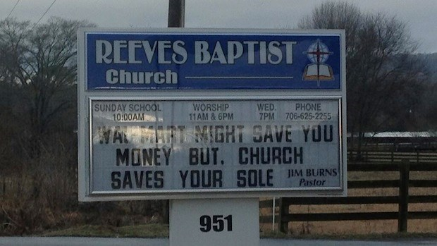 Church Signs of the Week: 2/7/14