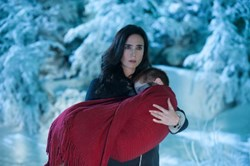 Jennifer Connelly and Ripley Sobo in 'Winter's Tale'