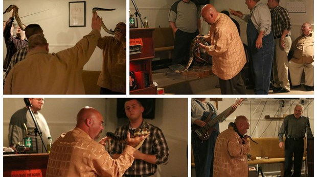 Snake Salvation Pastor Dies from Rattlesnake Bite during Worship Service