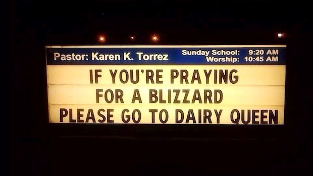 Church Signs of the Week: February 21, 2014