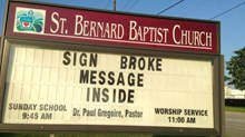 Church Signs of the Week: March 7, 2014