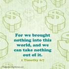 1 Timothy 6:7