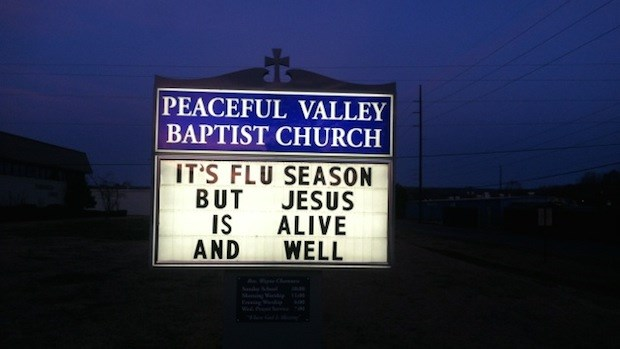 Church Signs of the Week: March 14, 2014