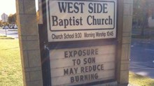 Church Signs of the Week: March 28, 2014