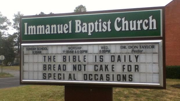 Church Signs of the Week: April 4, 2014