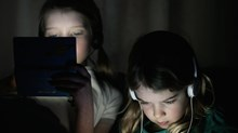 Kids Glued to Smart Phones? Wonder Where They Learned That...