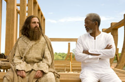 Steve Carrell and Morgan Freeman in 'Evan Almighty' (2007)