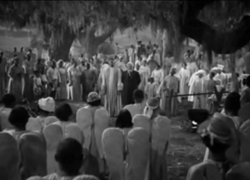 A scene from 'The Green Pastures' (1936)