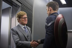 Robert Redford and Chris Evans in 'Captain America: The Winter Soldier'