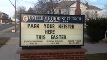 Church Signs of the Week: April 11, 2014