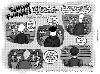 Cartoon Pastors