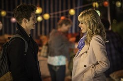 Andrew Garfield and Emma Stone in 'The Amazing Spider-Man 2'
