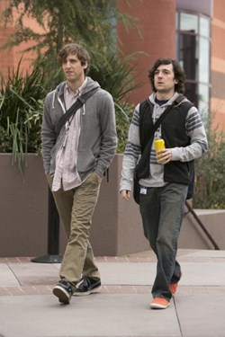 Thomas Middleditch and Josh Brener in 'Silicon Valley'