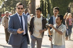 Jon Hamm, Madhur Mittal, Pitobash and Suraj Sharma in 'Million Dollar Arm'