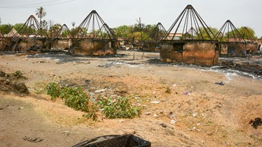 Malakal, South Sudan, was home to 170,000 people until it was torched during the conflict.