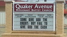 Church Signs of the Week: May 23, 2014