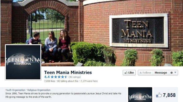 Ron Luce, World Magazine Debate Why Teen Mania Is One of America's Most Insolvent Charities