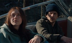 Dakota Fanning and Jesse Eisenberg in 'Night Moves'