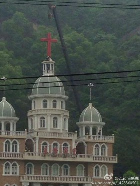 A church in Zhejiang