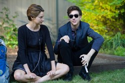 Shailene Woodley and Nat Wolff in 'The Fault in Our Stars'