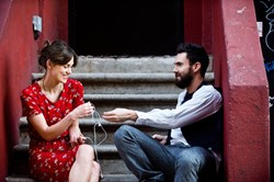 Keira Knightley and Adam Levine in 'Begin Again'