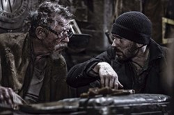 John Hurt and Chris Evans in 'Snowpiercer'