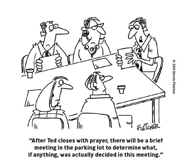 Useless Meeting