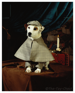 Wishbone as Sherlock Holmes, a role he skillfully filled long before Benedict Cumberbatch.
