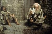 Richard Harris as Abbe Faria in 'The Count of Monte Cristo'