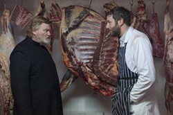 Brendan Gleeson and Chris O'Dowd in 'Calvary'