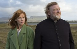 Brendan Gleeson and Kelly Reilly in 'Calvary'