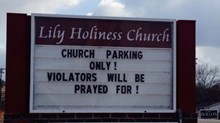 Church Signs of the Week: August 8, 2014