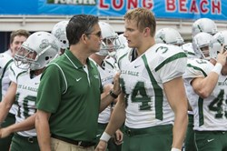 Jim Caviezel and Alexander Ludwig in 'When the Game Stands Tall'