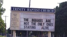 Church Signs of the Week: September 5, 2014