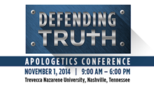 Saturday is for Seminars: Wesleyans, Houston, Tyler, TX, Nashville, and NRB Defending Truth Apologetics Conf.