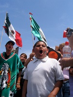 mex immig protest
