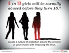 1 in 3 Girls Will be Sexually Abused Before They Turn 18