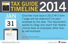Tax Guide Reminder: January 31, 2014