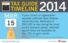 Tax Guide Reminder: March 15