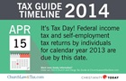 Tax Guide Reminder: April 15