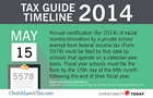 Tax Guide Reminder: May 15