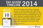 Tax Guide Reminder: August 2014